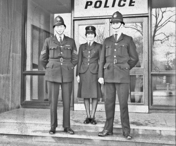 (Gloucestershire Police Archives URN 2419) | Photograph from an old negative