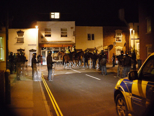 The Gloucester Riots, August 2011
