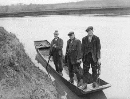 Three salmon fishermen made the grim discovery of a headless torso in the river nearby. (Gloucestershire Police Archives URN 2686)