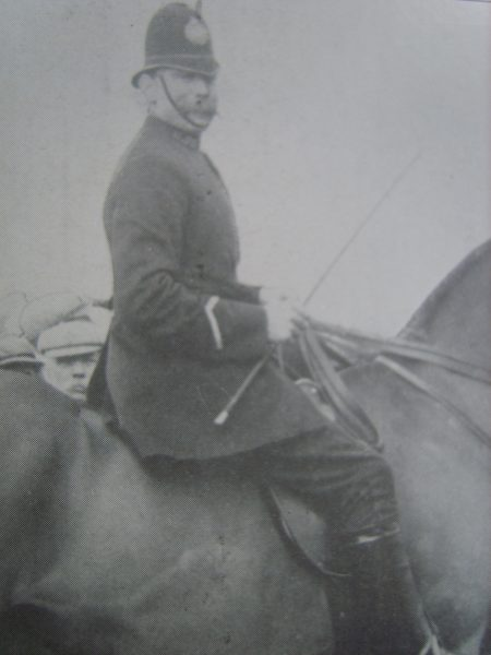 Police Constable 28 John Brooks. (Gloucestershire Police Archives URN 2667)