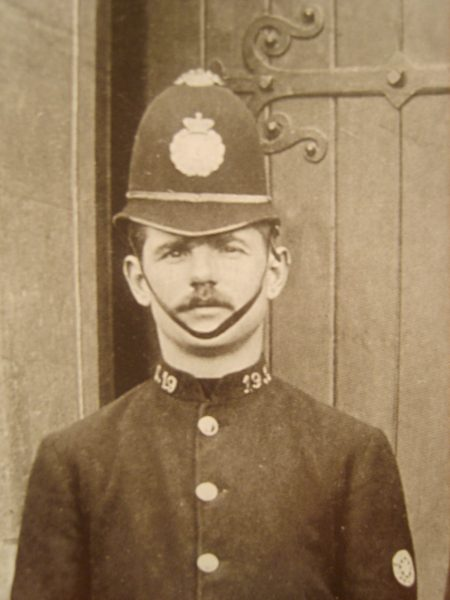 Police Constable 19 Mark Cove. (Gloucestershire Police Archives URN 2659).