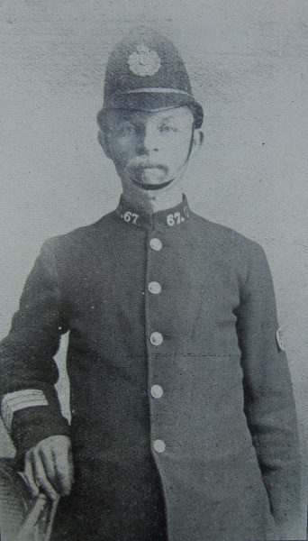 Police Sergeant 67 Charles Cripps Gloucester city. (Gloucestershire Police Archives URN 2660)
