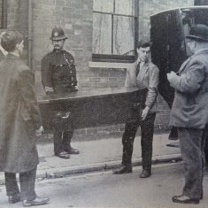 Cheltenham  death tragedy 09th October 1926,  Mother  and son  found dead in a house in Millbrook street Cheltenham. (Gloucestershire Police Archives URN 2612)