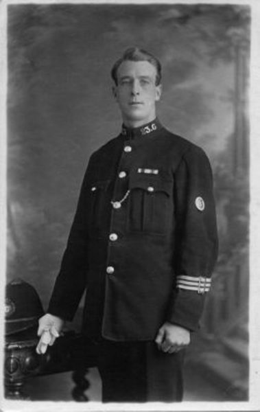 Police Constable 23 Hull. (Gloucestershire Police Archives URN 2657)