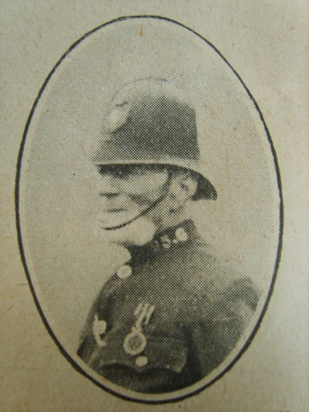 Police Sergeant 95 William Meade who was awarded the 1911 Coronation medal. (Gloucestershire Police Archives URN 2653)