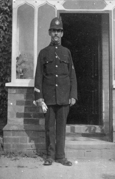 Police Constable 210 could be Joseph Churchill who served  1894-1921. (Gloucestershire Police Archives URN 2650)
