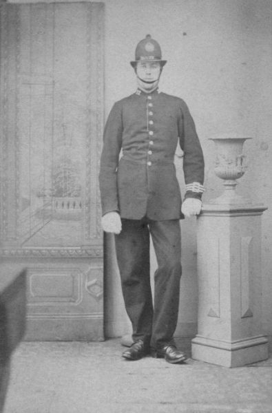Police Constable 22 could be William Loveday who served from 1899-1929.(Gloucestershire Police Archives URN 2651)