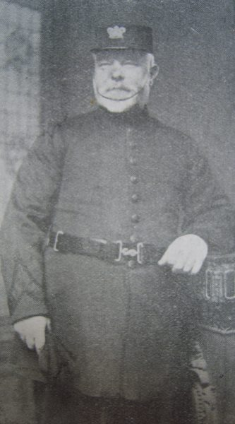 Police Inspector William Piff. (Gloucestershire Police Archives URN 2646)