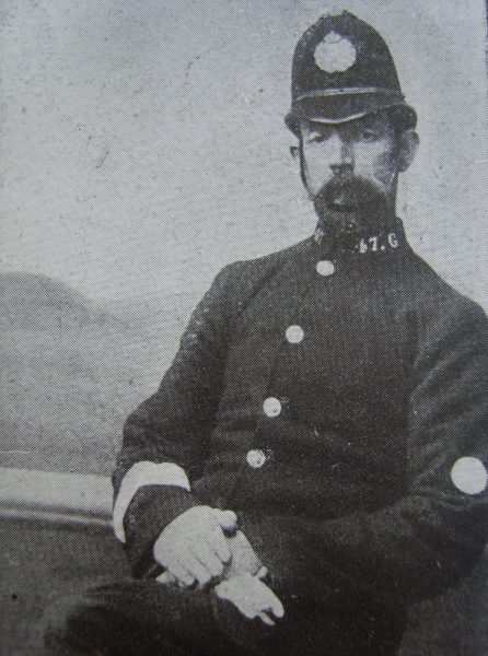 Police Constable 47 James Simpson. (Gloucestershire Police Archives URN 2643)