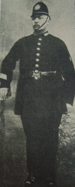 Police Sergeant George Smith 1905. (Gloucestershire Police Archives URN 2642)