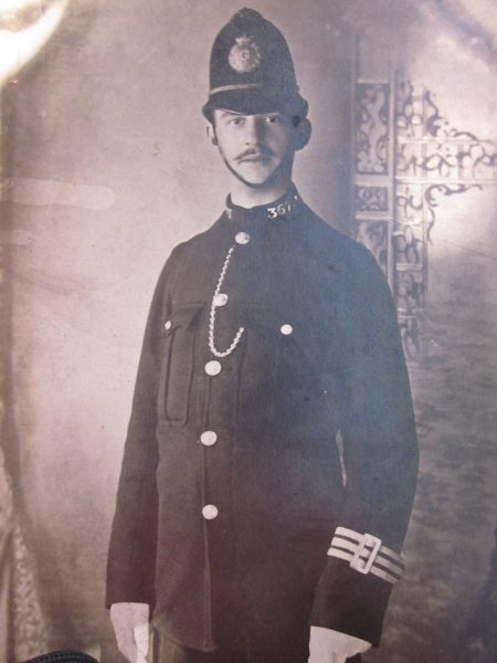 Police Constable Edward Styman. (Gloucestershire Police Archives URN 2641)