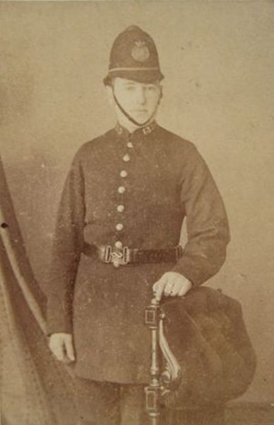 Second Cheltenham Police Constable. (Gloucestershire Police Archives URN 2662)
