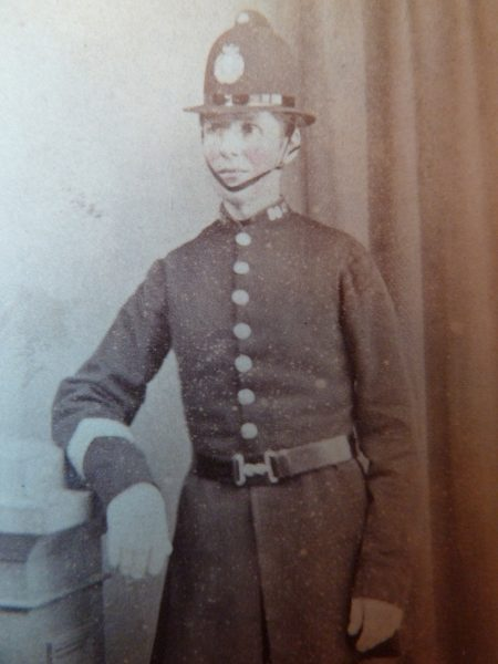Cheltenham Police Constable. (Gloucestershire Police Archives URN 2661)