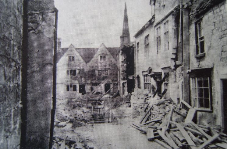 Painswick air raid June 1941. (Gloucestershire Police Archives URN 2625)