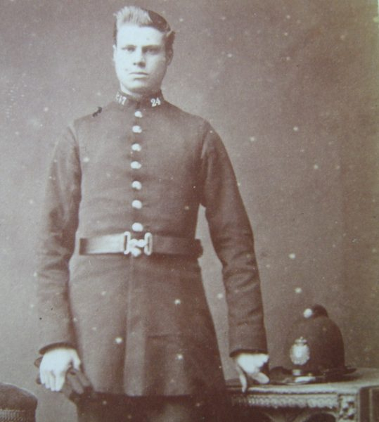Police Constable  247. (Gloucestershire Police Archives URN 2649)