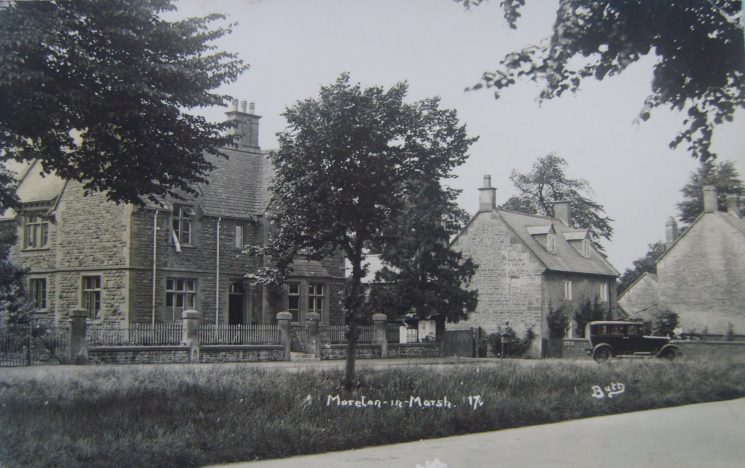 Postcard from Moreton in Marsh police house 1936. (Gloucestershire Police Archives URN 2630)