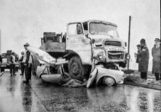 Road Accidents Have Always Been Part  of the Day Job