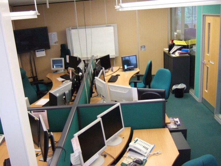 Silver control August 2010 (Gloucestershire Police Archives URN 3358)