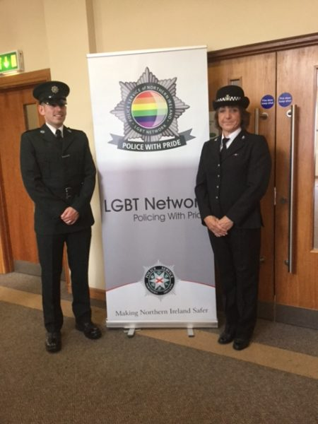 Bee Bailey at Northern Ireland LGBT Conference 2017 . (Gloucestershire Police Archives URN 6020) | Photograph from Bee Bailey