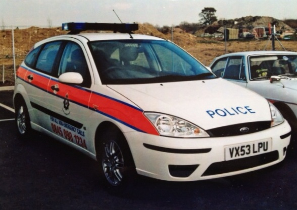 Ford Focus General Purpose Vehicle 2003 (Gloucestershire Police Archives URN )