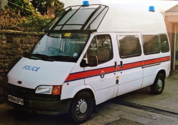 Ford Transit Forest of Dean Support Group Van 1994. (Gloucestershire Police Archives URN 3702)