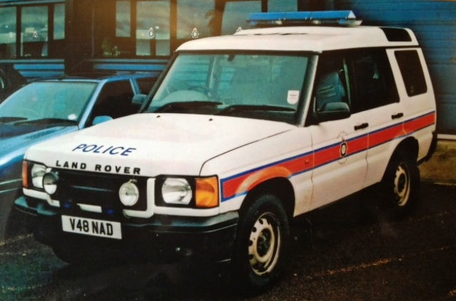 Landrover Discovery, Royal Household Protection Group Supervisors Vehicle 1998 (Gloucestershire Police Archives URN 3709)