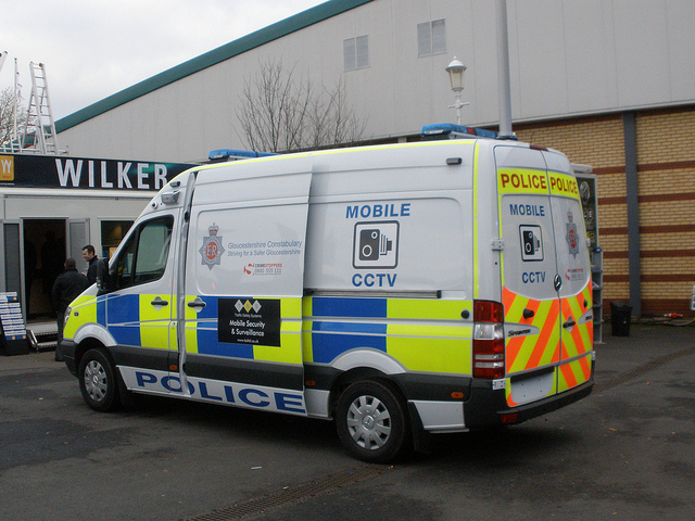 Mercedes Sprinter Mobile Closed Circuit Television Van 2012 (Gloucestershire Police Archives URN 3713)