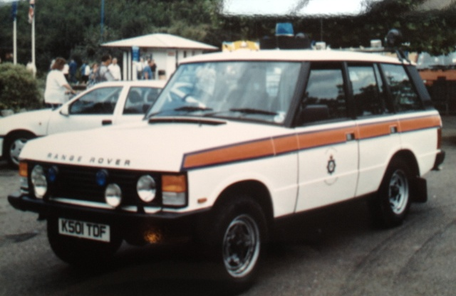 Range Rover Motorway Supervisor's Vehicle 1994 (Gloucestershire Police Archives URN 3733)