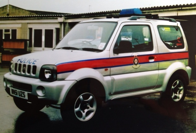 Suzuki Jimny 4x4, Rural Beat Vehicle Cirencester  2001. (Gloucestershire Police Archives URN 3743)