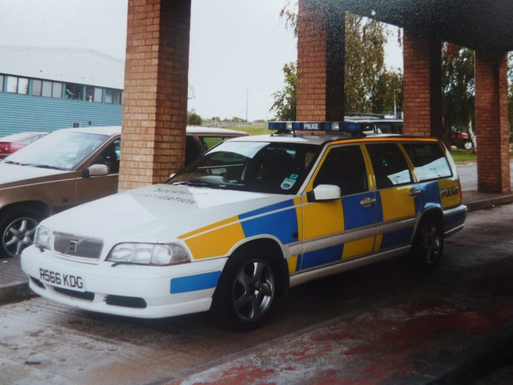 Volvo V7 T5 Accident Investigation Vehicle. (Gloucestershire Police Archives URN 3760)