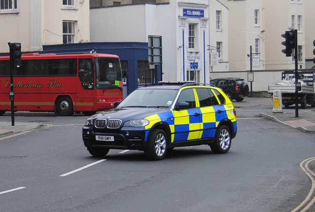 BMW X5  Operations Department 2011 (Gloucestershire Police Archives URN 6072)