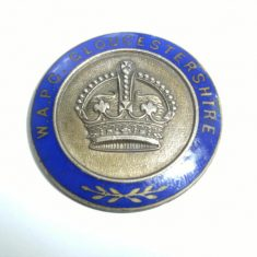 Women's Auxiliary Police Corps Badge (Gloucestershire Police Archives URN 6112 )