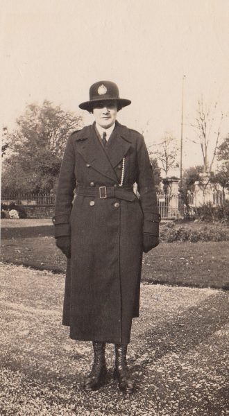 Janet Gray pictured between 1927 and 1931. (Gloucestershire Police Archives URN 6095)