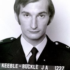Keeble Buckle JA 1227 (Gloucestershire Police Archives URN 6449)
