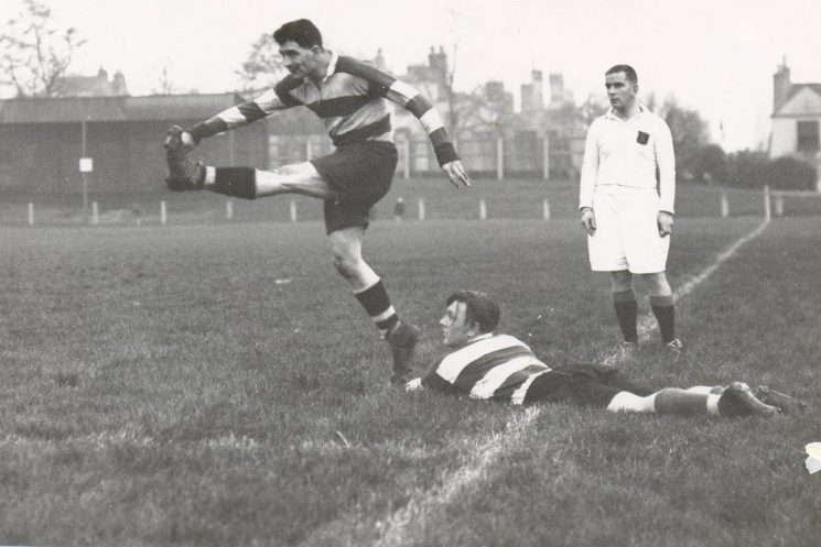 Gloucestershire Police rugby match T. Jones; K. Hudman (Gloucestershire Police Archives URN 1328)