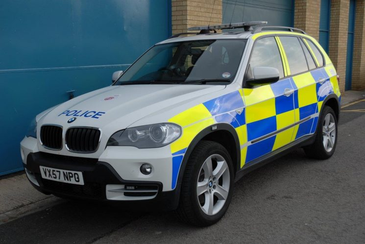BMW X5 Armed Response Vehicle (Gloucestershire Police Archives URN 6869) | Photograph from Simon Edwards
