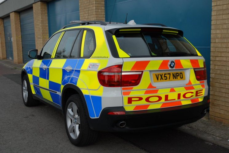 BMW X5 Armed Response Vehicle (Gloucestershire Police Archives URN 6870) | Photograph from Simon Edwards
