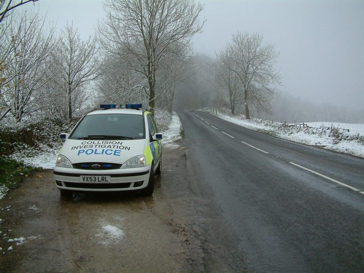Ford Galaxy Collision Investigation car which replaced the Volvo V70 2004 (Gloucestershire Police Archives URN 6883) | Photograph from Simon Edwards