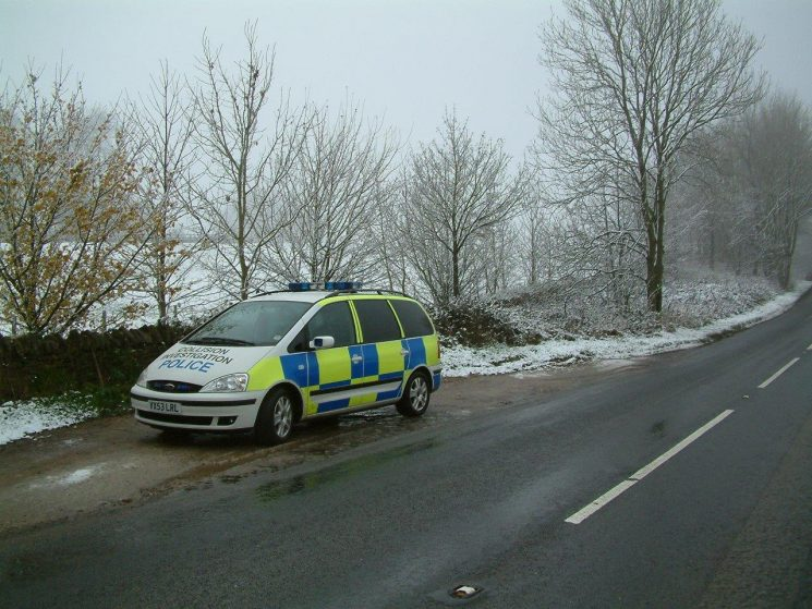 Ford Galaxy Collision Investigation car which replaced the Volvo V70 2004 (Gloucestershire Police Archives URN 6884) | Photograph from Simon Edwards