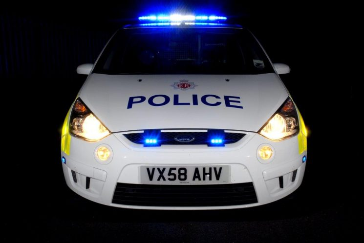 Ford S-Max was the replacement for the Collision Investigation Galaxy (photo from 2010) (Gloucestershire Police Archives URN 6886)   Photograph from Simon Edwards