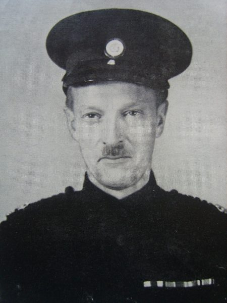 Special Superintendent Lionel D'Arcy-Fisher (Military Cross) Cheltenham Rural Division. (Gloucestershire Police Archives URN 6918)