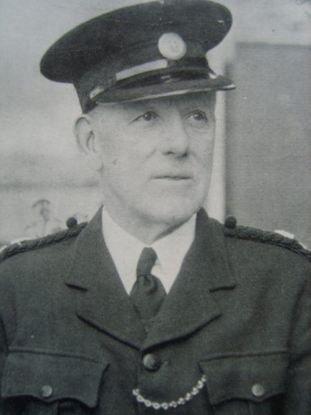Special Superintendent E.B. Evans Cheltenham Urban Division. (Gloucestershire Police Archives URN 6919)
