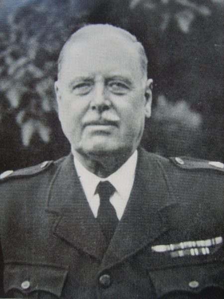 Special Superintendent H Hague Dursley Division (Gloucestershire Police Archives URN 6920)