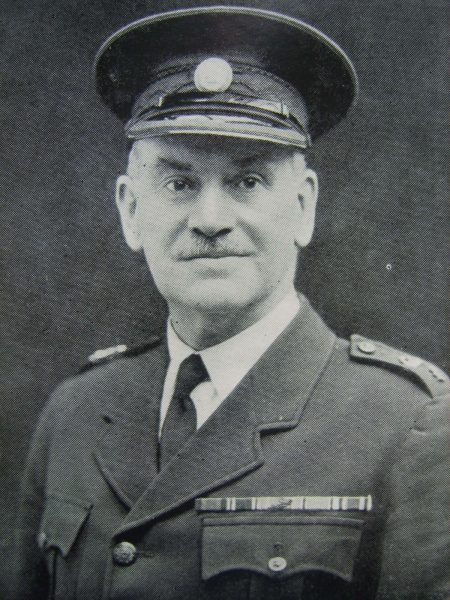 Special Superintendent G.B. Limbrick. Stroud Dvision (Gloucestershire Police Archives URN 6922)