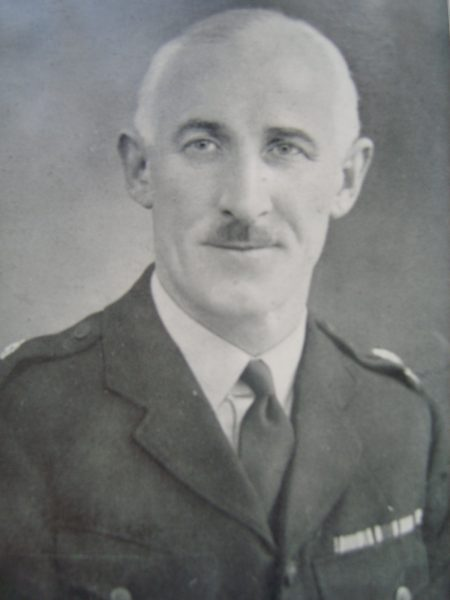 Special Superintendent J.E. Mc Keon Headquarters staff (Gloucestershire Police Archives URN 6924)