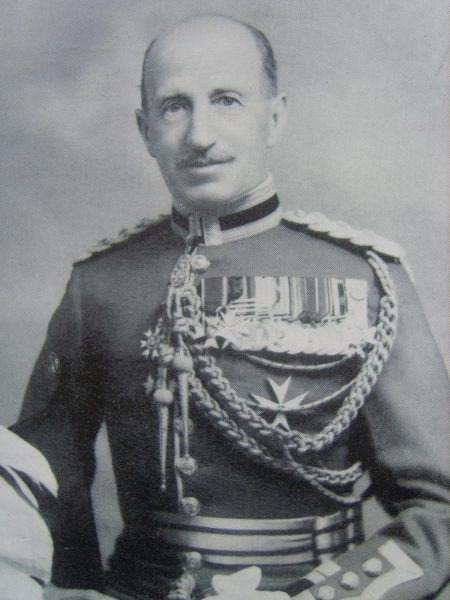 Special Commandant Sir James  Sleeman. (Gloucestershire Police Archives URN 6916)
