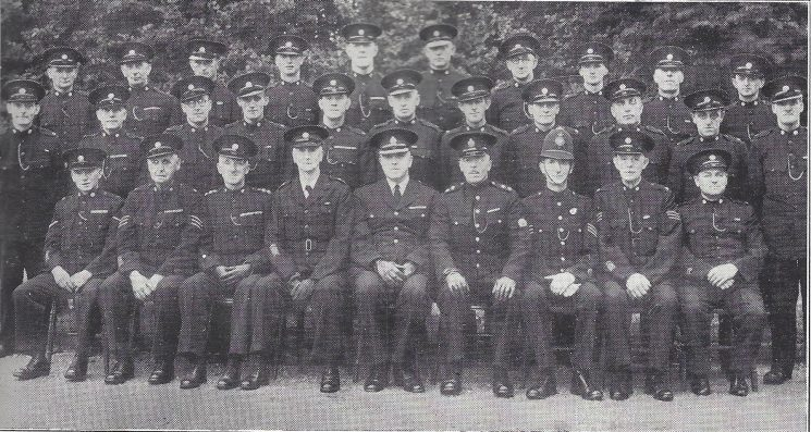 Staple Hill Division. Filton Section (Gloucestershire Police Archives URN 6957)