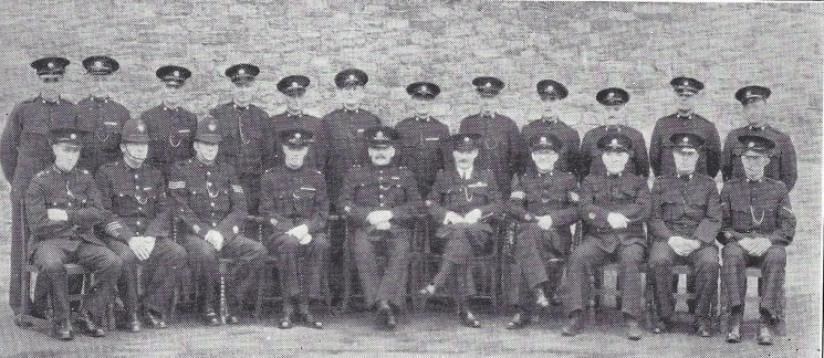 Thornbury Division Chipping Sodbury Section (Gloucestershire Police Archives URN 6962)