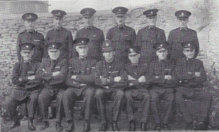 Thornbury Division Special Constables Marshfield Section (Gloucestershire Police Archives URN 6968)