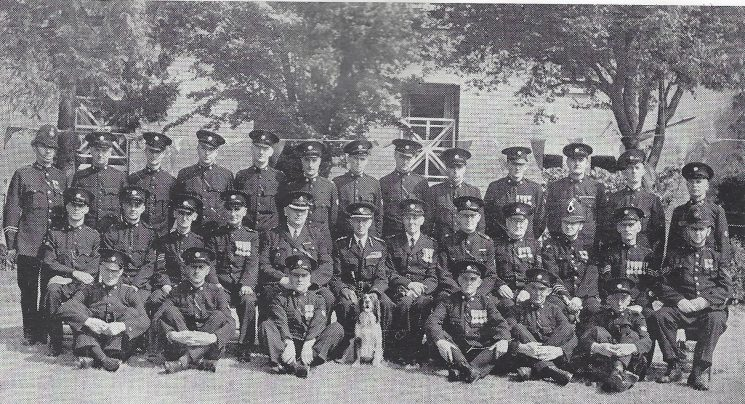 Gloucester Rural Division Hucclecote and Churchdown Sections (Gloucestershire Police Archives URN 7005)
